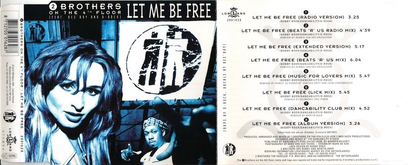 Let Me Be Free 90's  2 Brothers On The 4th Floor