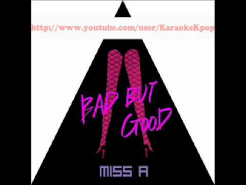 Miss A - Bad Girl Good Girl [MR] (Instrumental)