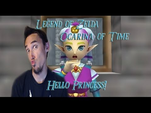 Let's Play Legend of Zelda Ocarina of Time: Hello Princess! [Part 4]