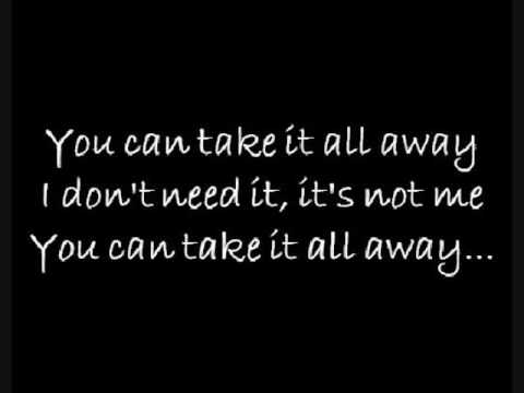 Ryan Cabrera-Take it all away lyrics