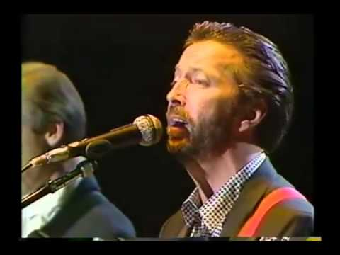 Eric Clapton with Mark Knopfler & Elton John - I Shot the sheriff Live at Tokyo Dome 1988