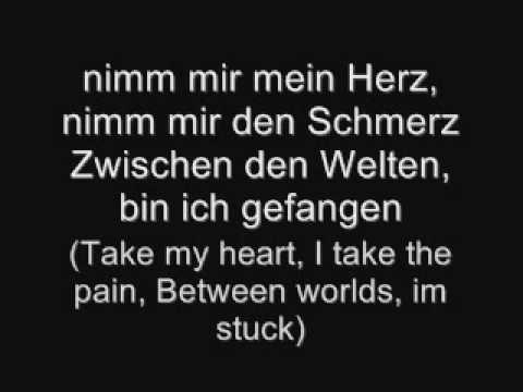 Tokio Hotel-Humanoid (German lyrics with english translation)