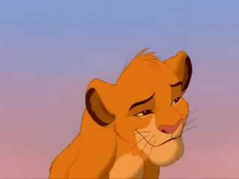 The Lion King  -Can you feel the love tonight Elton John