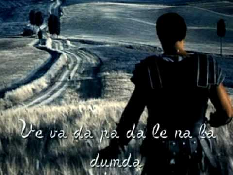 ♫ Soundtrack - Gladiator - Now We Are Free (with lyric).flv