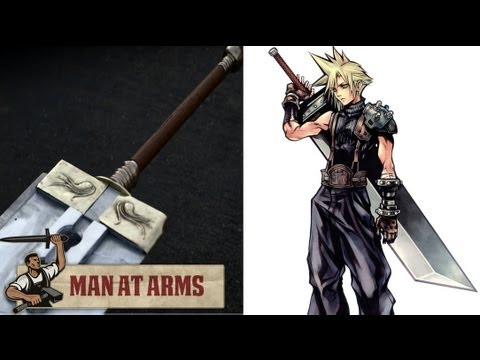 Cloud's Buster Sword (Final Fantasy VII) - MAN AT ARMS
