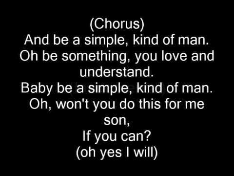 Lynyrd Skynyrd - Simple Man (with lyrics)