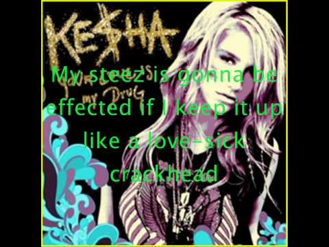 KE$HA Your Love Is My Drug Official Karaoke/Instrumental W/Lyrics HQ