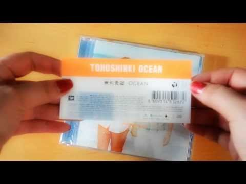 Unboxing - Review -Tohoshinki / TVXQ / DBSK - Ocean CD