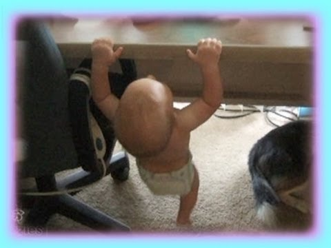 Little Baby Does Pull Ups