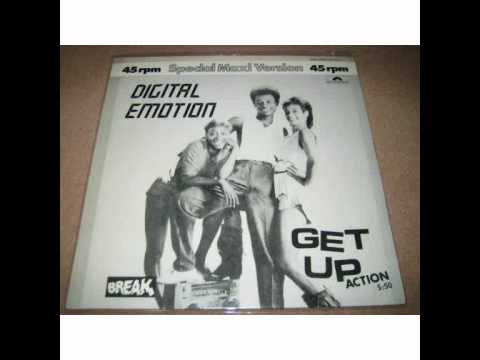 Digital Emotion - Get Up Action