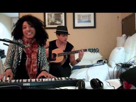 The Voice's Judith Hill & Karina Iglesias Spoof