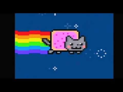 Nyan Cat - Dubstep Electro Remix  - Bombs Away (download with lyrics)