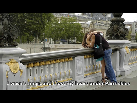 Ray Conniff - Under Paris Skies (With lyrics)