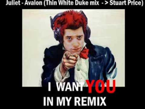 Juliet - Avalon (Thin White Duke remix AKA Stuart Price)