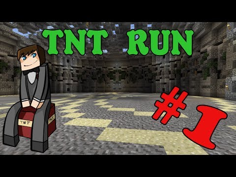 MINECRAFT TNT RUN #1: Начало