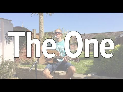 Kodaline - The One | Pat McIntyre Acoustic cover | Wedding guitarist Bristol | chords + lyrics