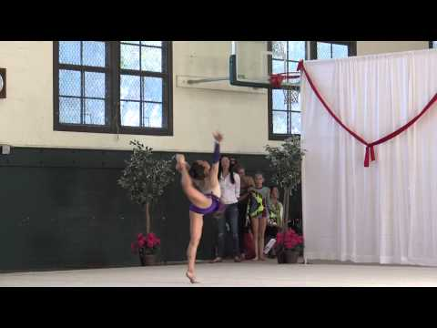 Lara - Rhythmic Gymnastics Level 6 Rope